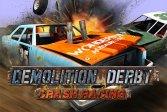 Дерби Крэш Гонки на снос Demolition Derby Crash Racing
