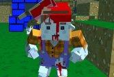 Пиксельный апокалиптический многопользовательский симулятор Pixel Apocalyptic multiplayer sim