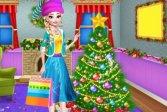 РОЖДЕСТВЕНСКОЕ ДЕРЕВО УКРАШЕНИЕ И НАДЕВАЙТЕ CHRISTMAS TREE DECORATION AND DRESS UP