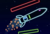 Неоновая Ракетная Игра Neon Rocket Game