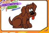 Мультяшная книжка-раскраска для детей - Животные Cartoon Coloring Book for Kids - Animals
