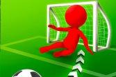 Сумасшедший футбольный удар Crazy Soccer kick