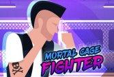 Смертная клетка боец mortal cage fighter