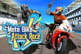 Мотобайк Moto Bike Attack Race