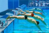 Гонка в бассейне Swimming Pool Race