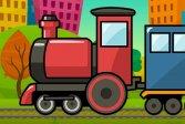 Поезд Пазл Train Jigsaw