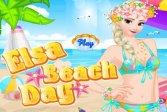 Эльза пляжный день Elsa beach day