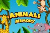 Память животных HTML5 Animals Memory HTML5