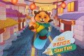 Красная панда-серфер Red Panda Surfer