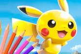 Раскраска Покемон Pokémon Coloring Book Game