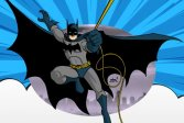 Бэтмен за рулем грузовика Batman Truck Driving