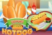 Вкусный хот-дог Yummy Hotdog