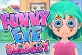 Забавная хирургия глаза Funny Eye Surgery