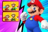 Головоломка Супер Марио Различия Super Mario Differences Puzzle