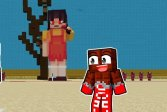 Кальмар игры Майнкрафт Squid Game Minecraft
