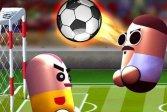 Игра в футбол с двумя головами 2 Player Head Soccer Game