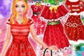 Рождественские наряды принцесс Christmas Princess Dress Up