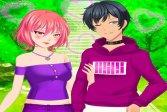Игры Одевалки Пары Аниме Anime Couples Dress Up Games