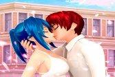 Аниме старшая школа пара макияж Anime High School Couple Makeover
