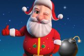 Санта-бомбардировщик 3D Santa Bomber 3D